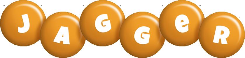 Jagger candy-orange logo