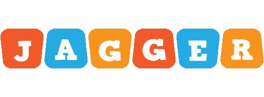 Jagger comics logo