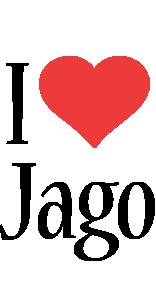 Jago i-love logo