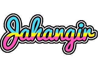 Jahangir circus logo