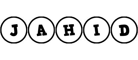 Jahid handy logo