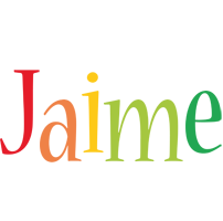 Jaime birthday logo