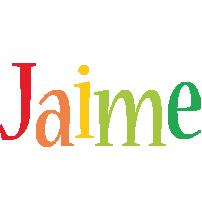 Jaime birthday logo