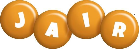 Jair candy-orange logo