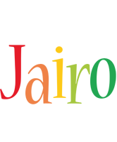 Jairo birthday logo