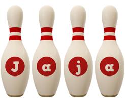 Jaja bowling-pin logo