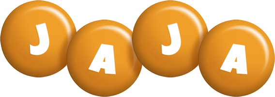 Jaja candy-orange logo