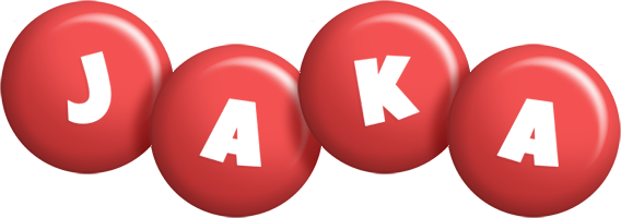 Jaka candy-red logo