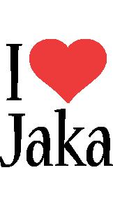 Jaka i-love logo