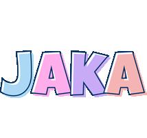 Jaka pastel logo