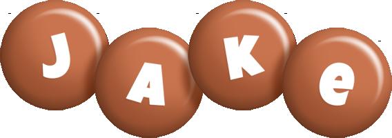 Jake candy-brown logo