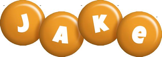 Jake candy-orange logo