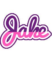 Jake cheerful logo