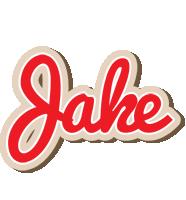 Jake chocolate logo