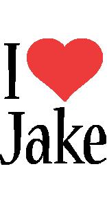 Jake i-love logo
