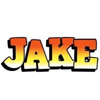 Jake sunset logo