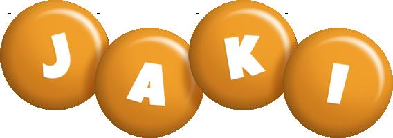Jaki candy-orange logo