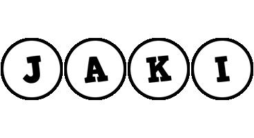 Jaki handy logo