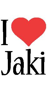 Jaki i-love logo