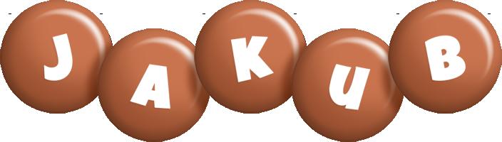 Jakub candy-brown logo