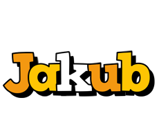 Jakub cartoon logo