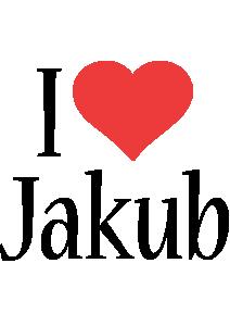 Jakub i-love logo