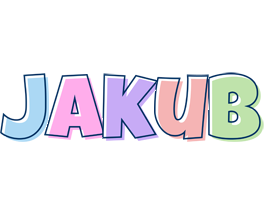 Jakub pastel logo