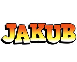 Jakub sunset logo