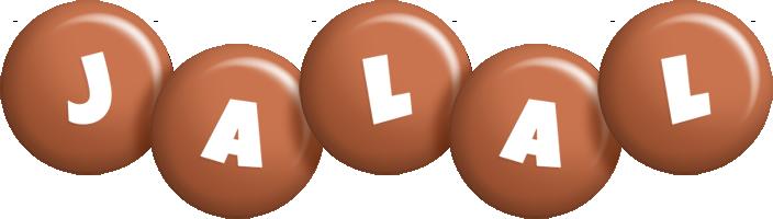 Jalal candy-brown logo