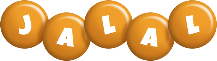 Jalal candy-orange logo