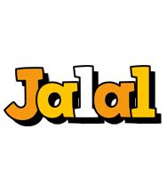 Jalal cartoon logo