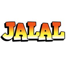 Jalal sunset logo