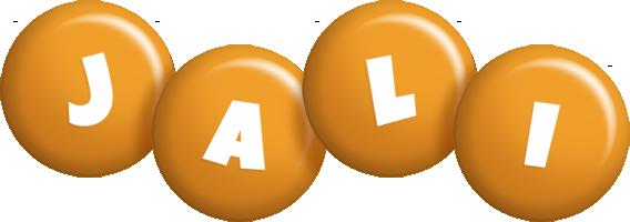 Jali candy-orange logo