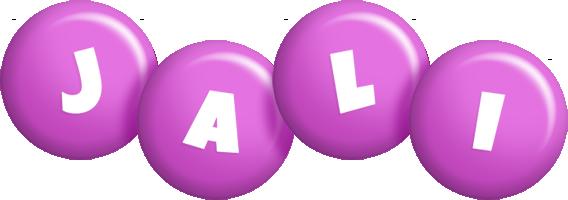 Jali candy-purple logo