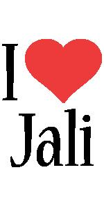 Jali i-love logo