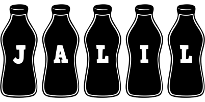 Jalil bottle logo