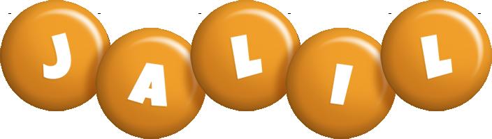 Jalil candy-orange logo