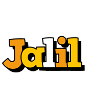 Jalil cartoon logo