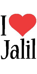 Jalil i-love logo