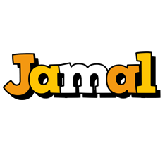 Jamal cartoon logo