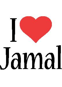 Jamal i-love logo