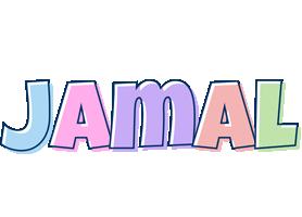 Jamal pastel logo