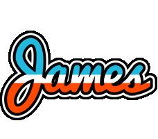 James america logo