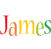 James birthday logo
