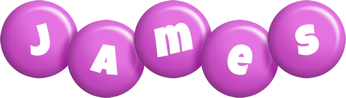 James candy-purple logo