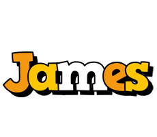 James cartoon logo