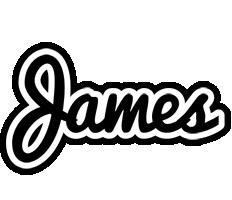 James chess logo