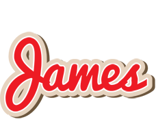 James chocolate logo
