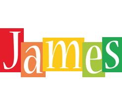 James colors logo