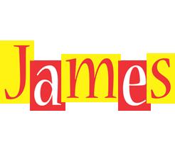 James errors logo